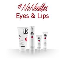 No Needles - Eyes and lips